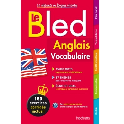 Bled Anglais Vocabulaire exercices corrigés.
