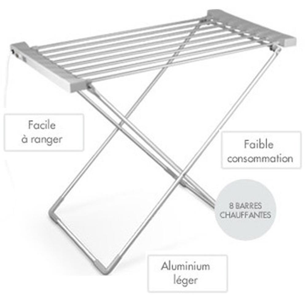 tendoir linge chauffant harper 120 w new alg rie market. Black Bedroom Furniture Sets. Home Design Ideas