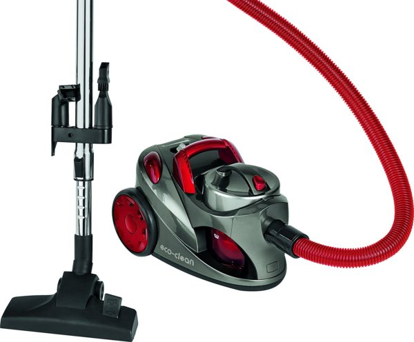 Aspirateur Eco-clean 700W BS 1294 rouge
