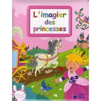 L'imagier des princesses ED cerise bleue CER-0355-8