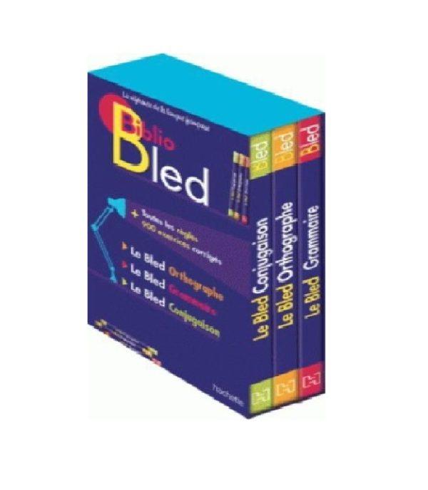 Biblio Bled 1/3 Le Bled Orthographe Le Bled Grammaire Le Bled Conjugaison