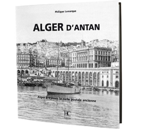 Alger d'antan a travers la carte ancienne
