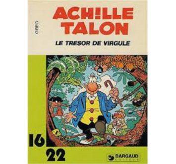 Achille Talon et Trésor de virgule