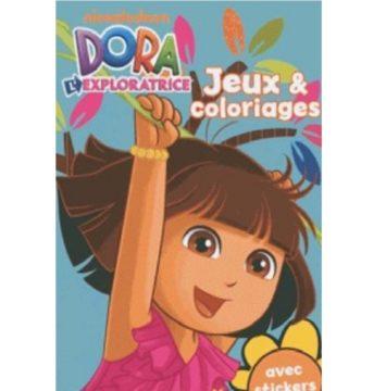 Dora Exploratrice Jeux & coloriages avec stickers