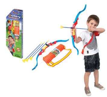 TIR A L'ARC POUR ENFANT AVEC VISE LAZER AK-031789