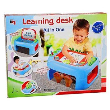 TABLE A DESSIN POUR ENFANT AVEC KIT DE RANGEMENT ET ACCESSOIRES