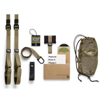 TRX SUSPENSION TRAINING KIT EXERCISEUR MILITAIRE ADE-152